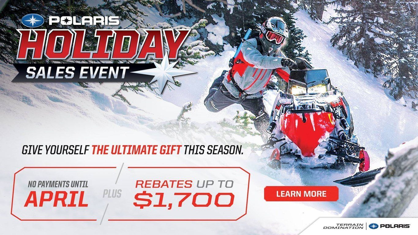 Polaris Snowmobiles Holiday Sales Event